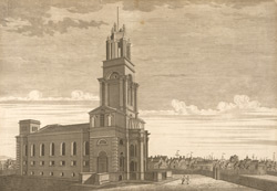 St Anne's Church at Limehouse